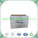 Boîte en carton blanc Taille personnalisée Déplacement de l'emballage boîte en carton