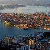 Cargadoor van Shenzhen China aan Barcelona