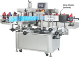 De automatische Machine van de Etikettering Shrinkagle Dubbele Hoofden