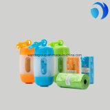 Eco Friendly Plastic Poop bolsas Impulso del perro bolsa Perfumado Rosa 3 rollos por la caja interna