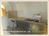 Camion de restauration de remorque de chariot de la nourriture Ys-Fv300