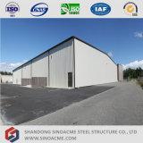 Structure légère en acier préfabriqués Sinoacme Immeuble de bureaux avec le stockage