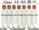 Polyurethane Carving cornisa molduras / PU cornisa para el hogar y decoración de interiores