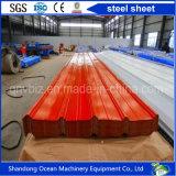 Strato d'acciaio profilato del tetto ondulato dalla lamiera di acciaio di PPGI Yx25-205-1025 con il prezzo competitivo dalla Cina