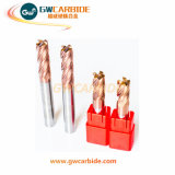 Solvently carbide end to Mills 4 Flutes