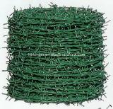 PVCによって塗られる電流を通されたとげがある鉄ワイヤー