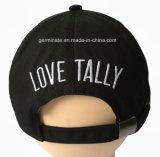 chapéu de basebol da forma 100%Cotton com 3D Emb no painel frontal e Emb liso na parte traseira (LY049)