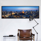 Grande taille City Downtown Canvas Print Painting