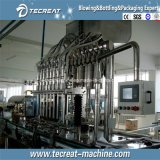 Tipo linear máquina de rellenar del aceite de cocina (SUS304&316) de la eficacia alta