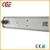 T5/TUBO LED T8 IP65 con soporte para T8/T5 de las luces de tubo