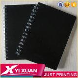 Тетрадь оптового книга в твердой обложке студента A5 PP/PVC школы поставкы школы изготовленный на заказ спиральн