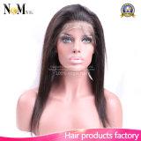 Straight Virgin Brazilian Hair 360 Lace Closure Frontal avec Bundles