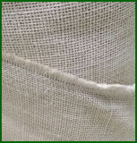 Paño Hessian blanqueado teñido del yute al por mayor