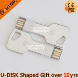 자물쇠 선물 (YT-3213-07)를 위한 주문 로고 키 모양 USB Pendrive