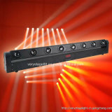 8X10W 4in1 RGBW lumière rotative LED Beam Bar tête de tête mobile