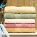 Graffetta lunga superiore del cotone 16s colorata a casa/tovaglioli bagno dell'hotel