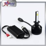 H7, lampada luminosa eccellente del faro dell'automobile del faro 6000lm LED dell'automobile di H4 LED, faro impermeabile 9004 per l'automobile