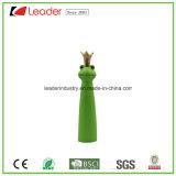 Coroa decorativa nova figura de terracota Sapo para decoração de jardins e relvados