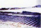 PP/HDPE éénassige Geogrid voor Behoudende Muur, de Aanleg van Wegen