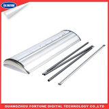 Plástico de aço Wide Base Display Roll up Stand com preço mais barato