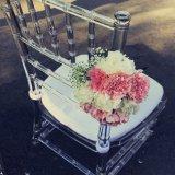 卸し業者の結婚式のプラスチック明確な水晶透過アクリルのChiavariの椅子