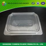 처분할 수 있는 플라스틱 음식 콘테이너를 포장해 물집 조가비 과일 야채