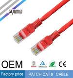 Sipu Cable de comunicación del OEM 24AWG RJ45 UTP CAT6 Cable de comunicación