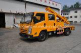 LHD 4X2 Fabrik-Preis-Leitschiene-Pfosten-Stampfer mit hydraulischem Zubehör