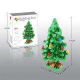 14889109-Micro Bloque Kit Navidad Serie Bloques Set Creativo Educativo DIY Juguete 130PCS - Árbol De Navidad