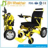 Fabricante ultraligero plegable del sillón de ruedas de la potencia