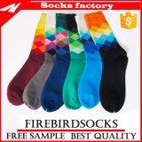 Носки оптового Mens способа цветастого счастливые и изготовленный на заказ носки