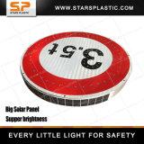 Geïntegreerdet Zonne LEIDENE van de Verkeersveiligheid van het Aluminium Verkeersteken