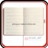 Gift van de Agenda van het Dagboek van het Leer van de Folie van de douane de Gouden Wekelijkse