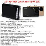 """Heißes Verkauf 2.7 """" HD TFT LCD Bildschirmanzeige-Auto bewegliche DVR InGedankenstrich Kamera mit vollem HD1080p Auto DVR, Winkel der Ansicht-120degree, 4G Objektiv, Digital-Videogerät DVR-2703"""