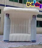 Tenda gonfiabile della cabina della bottiglia per la promozione