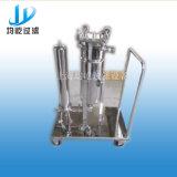 Filtro de saco móvel industrial do produto comestível do filtro do aço inoxidável único
