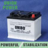 Autobatterie-trockene belastete Leitungskabel-Säure-Batterie DIN62 12V62ah
