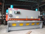 Máquina que pela de la guillotina hidráulica de QC11k 12*3200 con el regulador de A62s