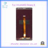 Мобильный сотовый телефон оригинал M7 с сенсорным экраном LCD для Huawei Мате 7 дисплеем поврежден