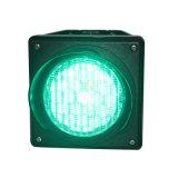 Luz verde Cobwebbery 100mm de una unidad de la luz de la señal de tráfico de LED