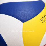 Volleyball en cuir composé de formation de qualité