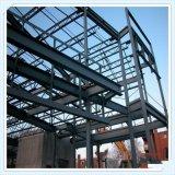 Marco de acero prefabricado de Q235 Q345 para el taller