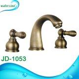 Conjuguent le taraud de mélangeur en bronze de baignoire du traitement 3holes Cupc