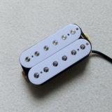 Raccolta bianca di ceramica della chitarra di Magnent Humbucker con 6 Palo registrabile