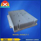 Disipador de calor de extrusión de aluminio mecanizado con CNC