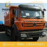 아프리카 시장을%s 벤즈 기술을%s 가진 사용된 Beiben 10 바퀴 팁 주는 사람 덤프 트럭 6X4 340HP