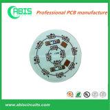 Ronde PCB van de Basis van het Aluminium van de Vorm met Groen Soldeersel
