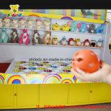 Copo do creme do Cabine-Gelo do carnaval dos jogos do divertimento