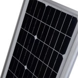 El precio de fábrica de aluminio durable Integrado de luz solar de la calle