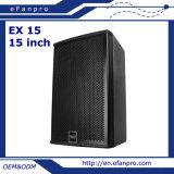 Escolhir o equipamento audio do altofalante profissional de 15 polegadas para os edifícios (15 EX)